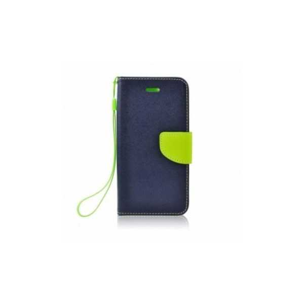 Brieftaschenetui Fancy Book auf  HTC U12+  Blau